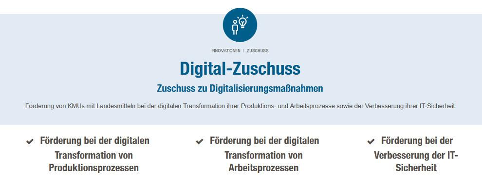 Website Digital-Zuschuss