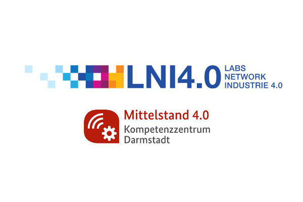 Logo LNI 4.0 und Logo Kompetenzzentrum