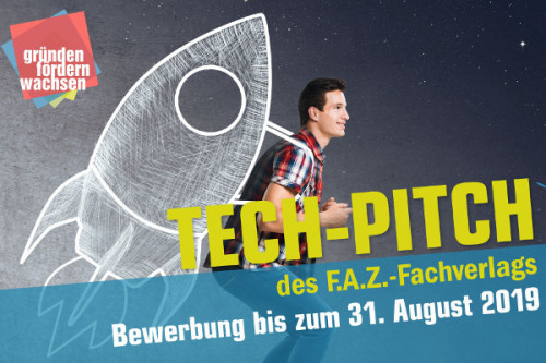 Banner Tech-Pitch des F.A.Z-Fachverlags