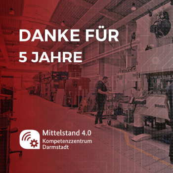 Thumbnail Video: Fünf Jahre Mittelstand 4.0-Kompetenzzentrum Darmstadt